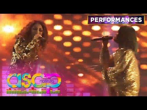 X Factor Romania grand winner Bella Santiago performs with  KZ Tandingan  | ASAP Natin 'To