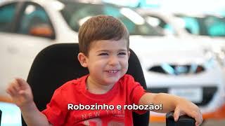 Como são feitos os carros... do ponto de vista das crianças