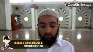 Tata Cara Sholat Nabi Muhammad SAW