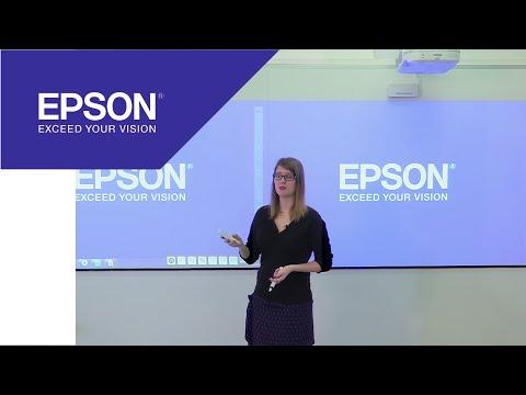 Les projecteurs interactifs Epson à la Dane de Versailles