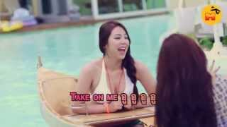 "[Thaisub] K-POP SummerTime Girlgroup  Bikiny  "" Take On Me """