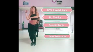"""ZAYN"" - Dusk till down ft.Sia DJ TRONKY bachata Remix with some bachata fusion steps😉"