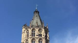 Cologne Rathaus Bells playing Stockhausen (Tierkreis / Stier)