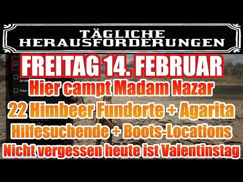 Freitag 14. Februar Täglichen Herausforderung Dailys Nazar Red Dead Redemption 2 Online