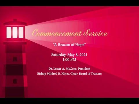Clinton College Commencement Service 2021