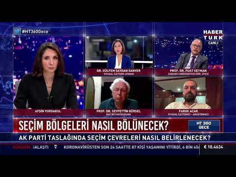 HT 360 Gece'de AK Parti'nin çalışması konuşuluyor… #CANLI