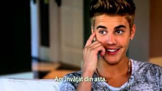 Justin Bieber's Believe trailer romana