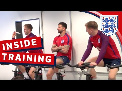 Exclusive - England recovery & training session   Inside Training