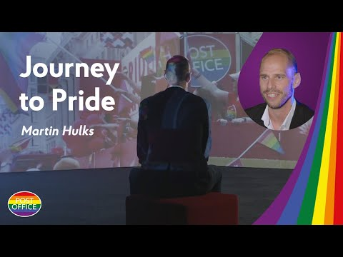 Journey To Pride: Martin Hulks from Post Office shares his story