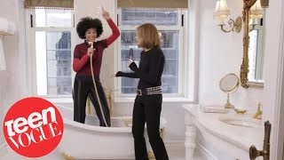 Amandla Stenberg And Gloria Steinem Have An Epic Dance Off | Teen Vogue