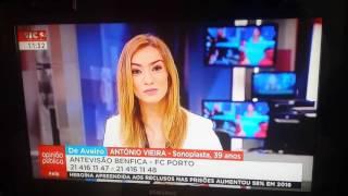 Repórter da SIC Notícias convidada para jantar em directo HD