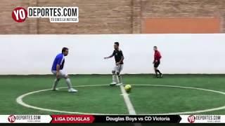 Douglas Boys vs CD Victoria Liga Douglas