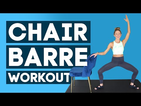 Chair Barre Low Impact Total Body Workout (BEGINNER-FRIENDLY BALLET INSPIRED!)