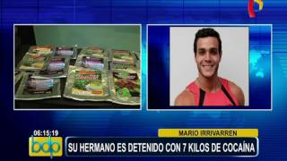 Los Olivos: hermano de chico reality es detenido con 7 kilos de droga