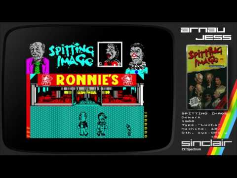 SPITTING IMAGE Zx Spectrum by Domark