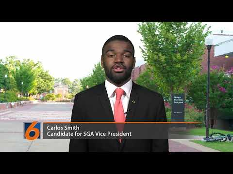 SGA Vice President Candidate: Carlos Smith
