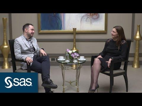 SAS Analytics Café: Kaan Sekban, Komedyen, Yazar