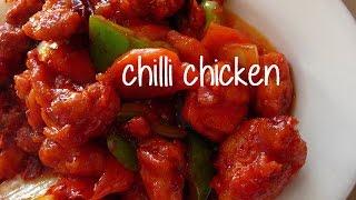 Easy Chilli Chicken Recipe Best Chicken Chili Recipe By Chef Shaheen Youtube