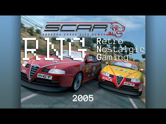 Retro Nostalgic Gaming on Windows 7/10: SCAR Squadra Corse Alfa Romeo (2005) 4K 60fps