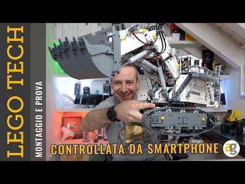 MONTAGGIO RUSPA LEGO SMART! Il set TECHN …