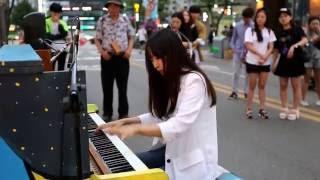 JHKTV]  sin chon K- piano 문아람 flower dance