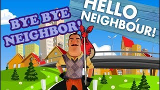 Make the Neighbor Leave the Map!! (Hello Neighbor glitch)