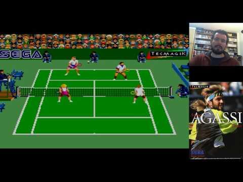 MORRALLA CLÁSICA #3 Andre Agassi Tennis (SMS) - Movimientos robóticos