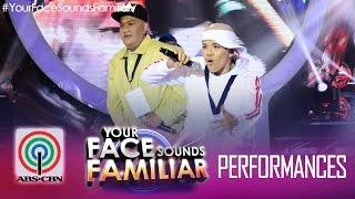 "Your Face Sounds Familiar Duet: Tutti Caringal & Melai Cantiveros as Salbakuta - ""Stupid Love"""