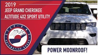 2019 Jeep Grand Cherokee ALTITUDE 4X2 Sport Utility  -  Chrysler Dodge Jeep Ram Crestview, FL