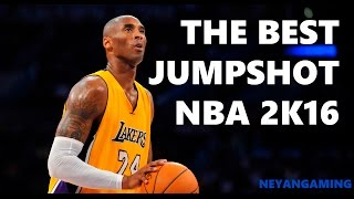 The Best Jump Shot in NBA 2K16 - For Mid Range! - Neyan Gaming