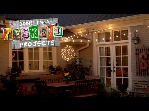 Light Up Your Life: How String Lights Can Help Shine a Light on Your Yard and Patio