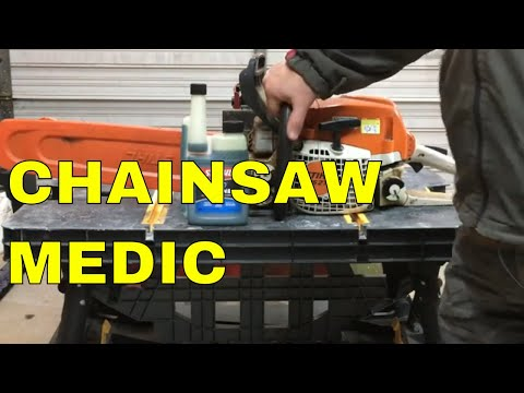 DON'T RUIN YOUR CHAINSAW - WATCH THIS!