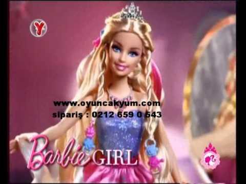 barbie sihirli saçlar prenses sipraiş : 0212 659 0 543
