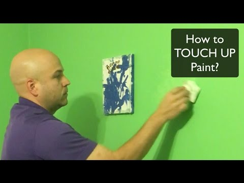 How to TOUCH UP PAINT?