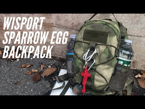 Wisport Sparrow Egg Backpack: Smallest Backpack I've Ever Tested, Solid for Small EDC, Day Trips