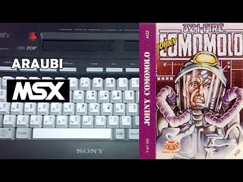 Johny Comomolo in 3-2-1 Fire (Juliet Software, 1986) MSX [622] Walkthrough Comentado