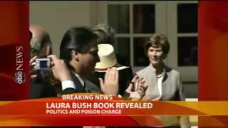 Laura Bush Addresses Car Crash in Memoir