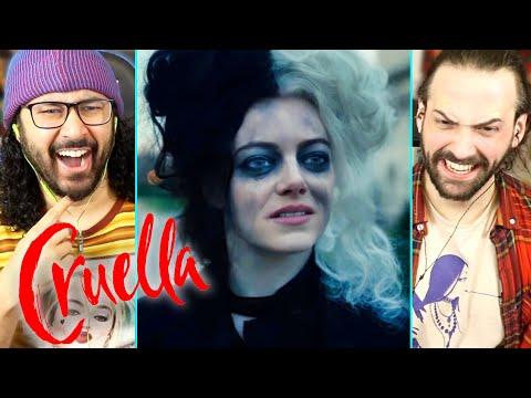 CRUELLA   TRAILER REACTION!! (Disney   Emma Stone   Joker)