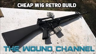 M16 Style Retro Build For CHEAP