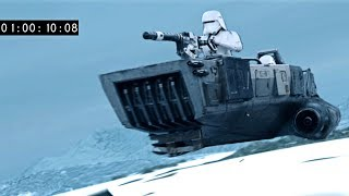 Deleted Scene: Snow Speeder Chase
