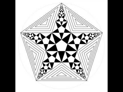 伊斯蘭的幾何拼貼 15A