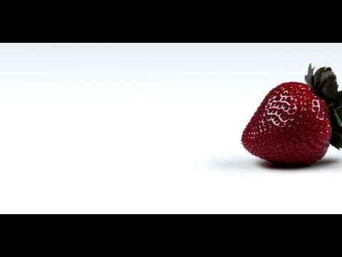 Royalty Free Stock Footage of Panning across delicious looking strawberries.