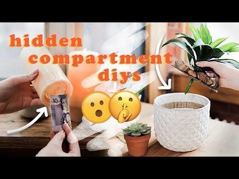 3 Amazing Hidden Compartment DIYs!