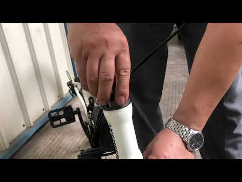 How to replace the front fork parts (AN-EB001 AN-EB002 AN-EB003 )