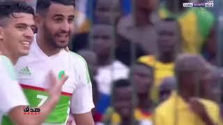 ملخص مباراة الجزائر و توغو 4 1 ثنائية عالمية لرياض محرز   جنون حفيظ الدراجي!