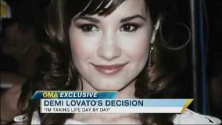 Demi Lovato 'GMA' Interview: Says Bullies Called Her Fat (2011)