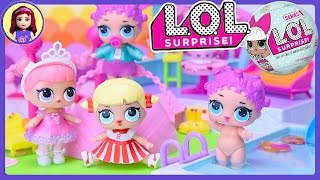 L.O.L Surprise! Dolls Happy Places Pool Party Unboxing Review Silly Play Kids Toys
