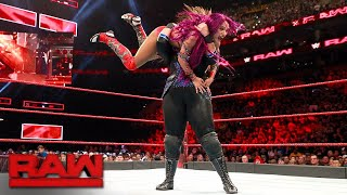 Sasha Banks vs. Nia Jax - Winner Challenges for Raw Women's Title at SummerSlam: Raw, Aug. 14, 2017 width=