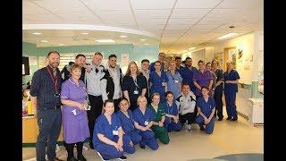 King's College Hospital visit