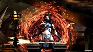 Mortal Kombat X All Test Your Might Deaths on Kitana Tournament Outfit (HD)